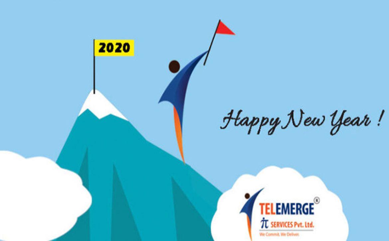 New year wish from TelemergeIT